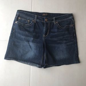Seven 7 Denim Cotton Stretch Jean Shorts
